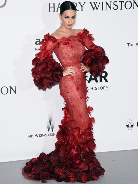 Katy Perry at AmFAR Against AIDS Charity Gala