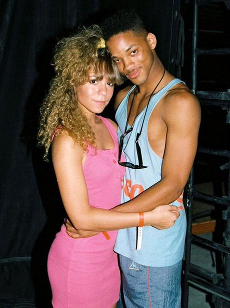 Mariah Carey and Will Smith in 'Wayback When' phot