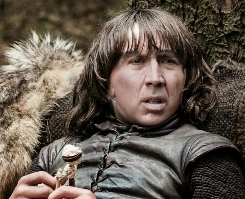 Nicholas Cage In Game Of Thrones