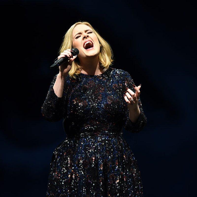 Adele Singing Manchester 2016
