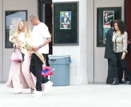 Beyonce and Jay-Z leave Blue Ivy's dance show