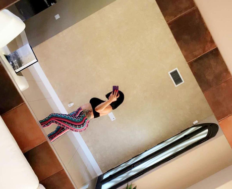Blac Chyna shows off baby bump