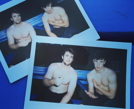 Shawn Mendes goes shirtless in new 'album art work