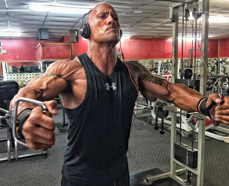 The Rock prepares for the next Fast and Furious fi