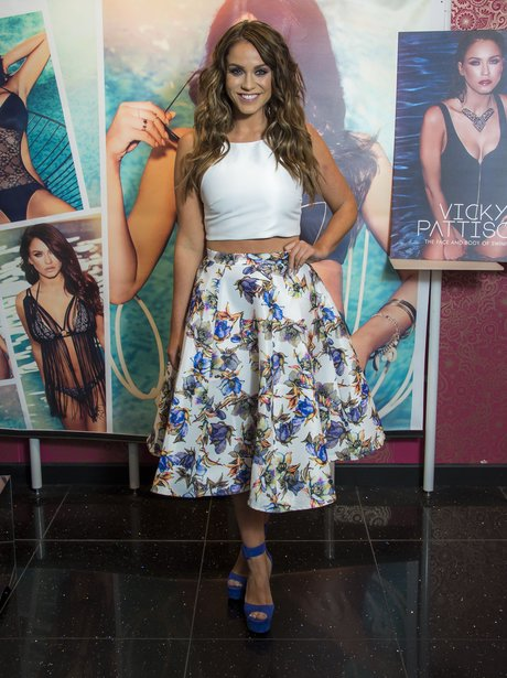 Vicky Pattison attends Ann Summers launch event
