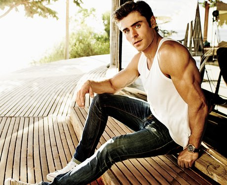 Zac Efron for Men's Fitness