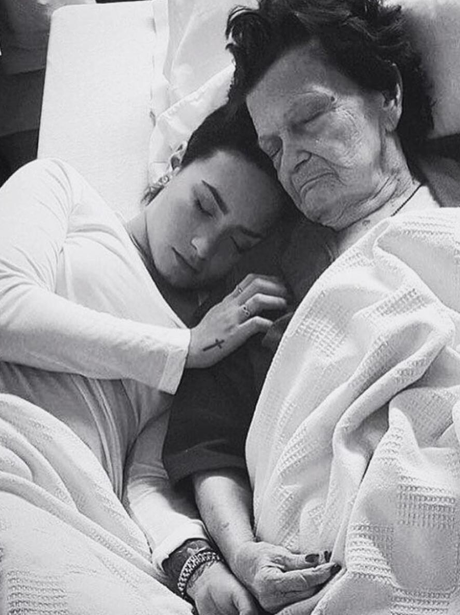 Demi Lovato posts emotional tribute to her late gr
