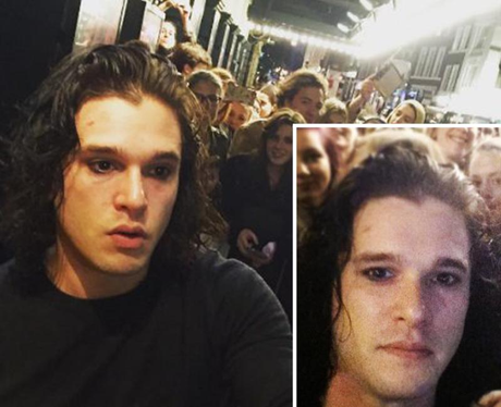Kit Harrington Shaved Beard
