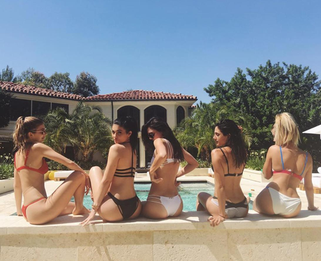 Kylie Jenner has a girls pool party with Kendall a