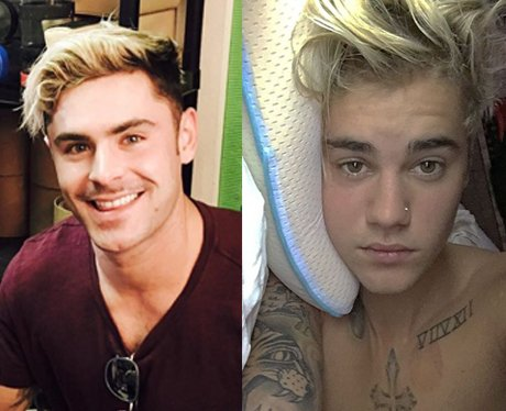 Zac Efron takes inspiration from Justin Bieber in