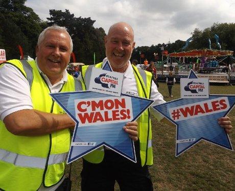 Cardiff Fanzone - Wales v Slovakia