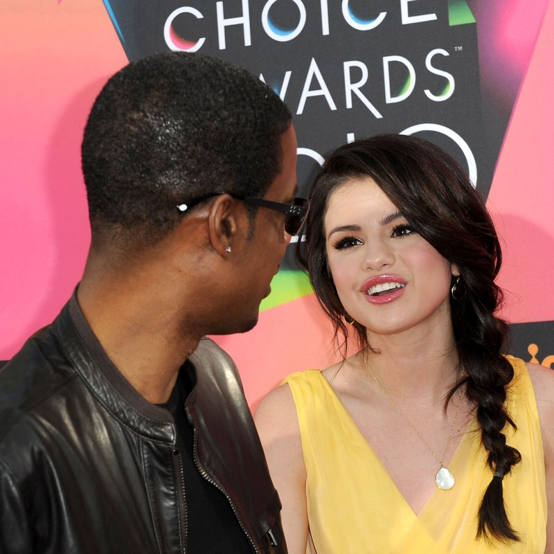 Chris Rock and Selena Gomez