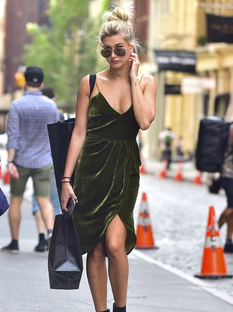Hailey Baldwin pounds the streets of New York