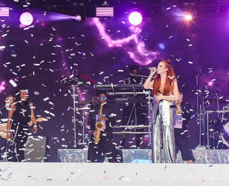 Jess Glynne at the Summertime Ball 2016