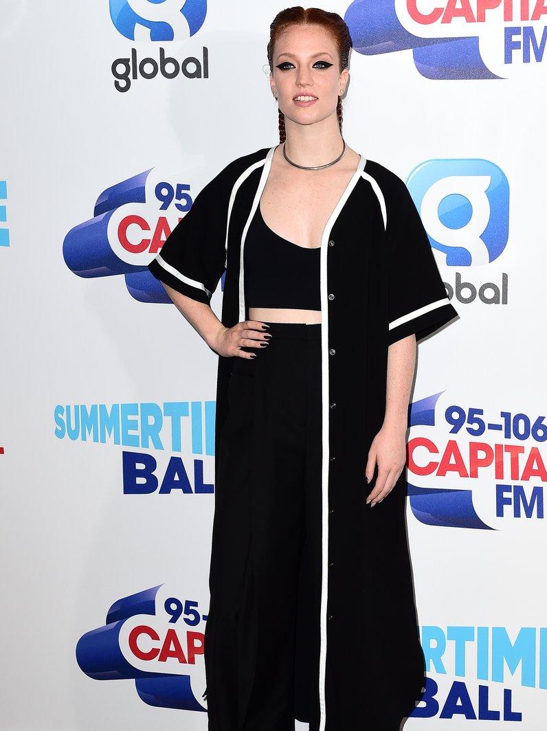 Jess Glynne Red Carpet Summertime Ball 2016