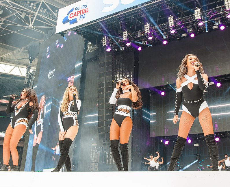 Little Mix at Summertime Ball 2016