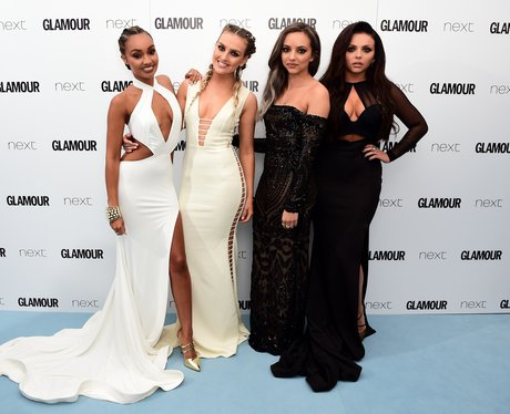 Little Mix at the Glamour Awards 2016