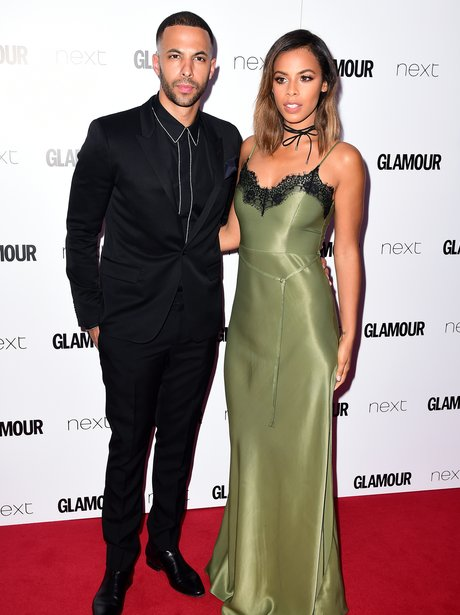 Marvin and Rochelle Humes at the Glamour Awards 20