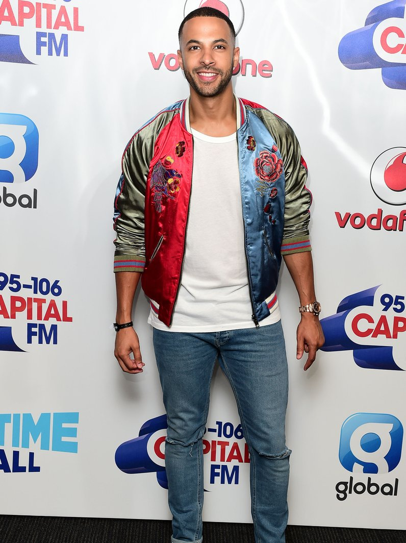Marvin Humes Summertime Ball 2016 Red Carpet