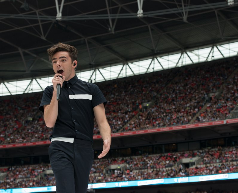 Nathan Sykes at the Summertime Ball 2016
