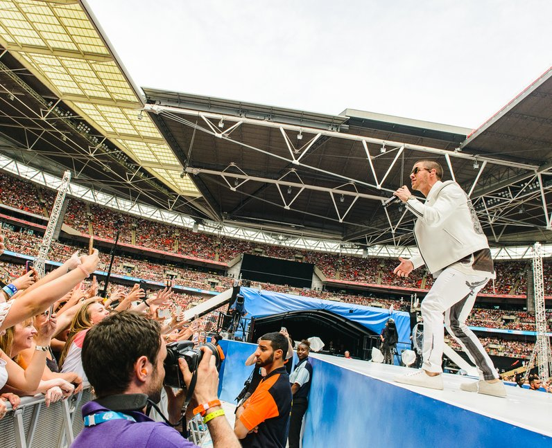 Nick Jonas at the Summertime Ball 2016