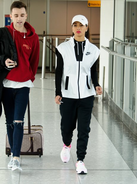 Nicole Scherzinger lands back in London