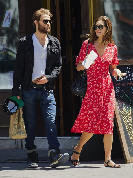 Paul Wesley and Phoebe Tonkin go for a romantic st