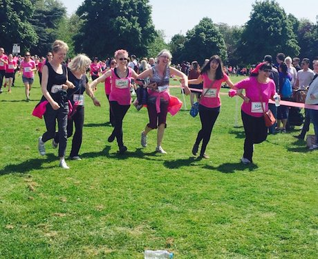 Race For Life Nottingham - Part One!
