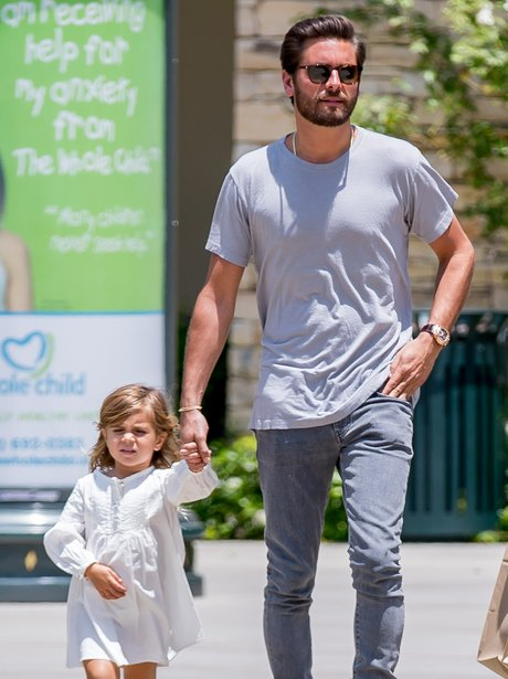Scott Disick and Penelope step out for father-daug