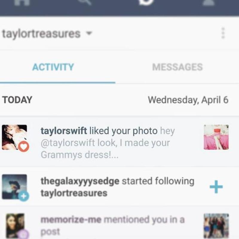 Taylor Swift Lotte Lutjes Instagram