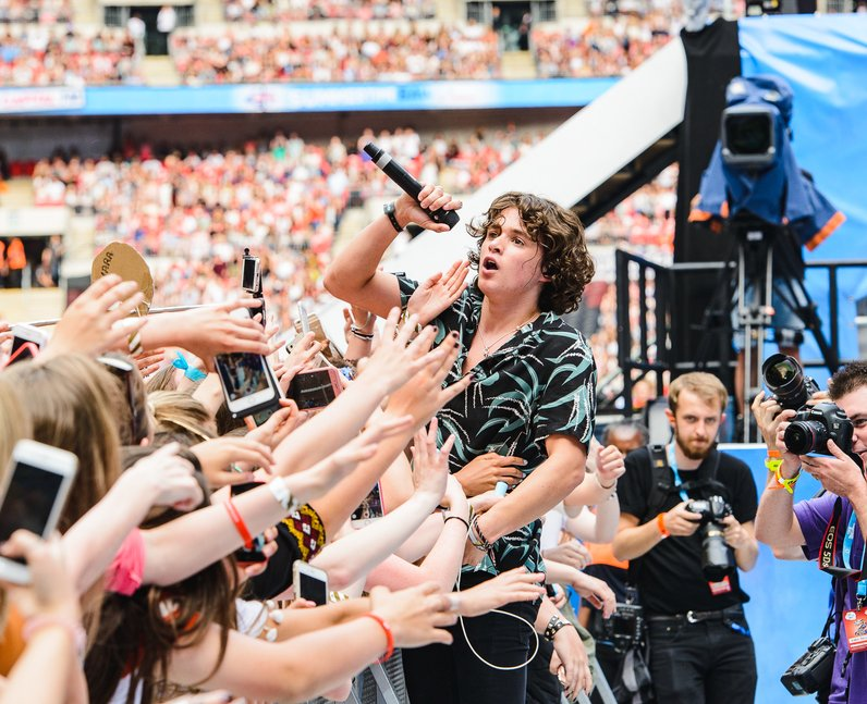 The Vamps at the Summertime Ball 2016