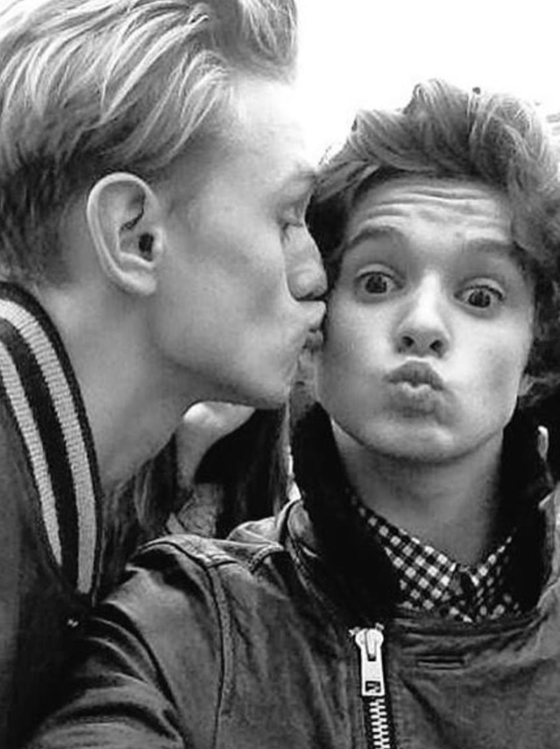 The Vamps pucker up