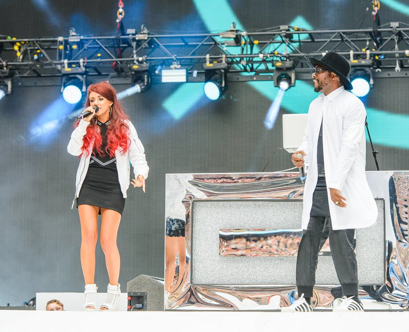 will.i.am and Lydia Lucy Summertime Ball 2016