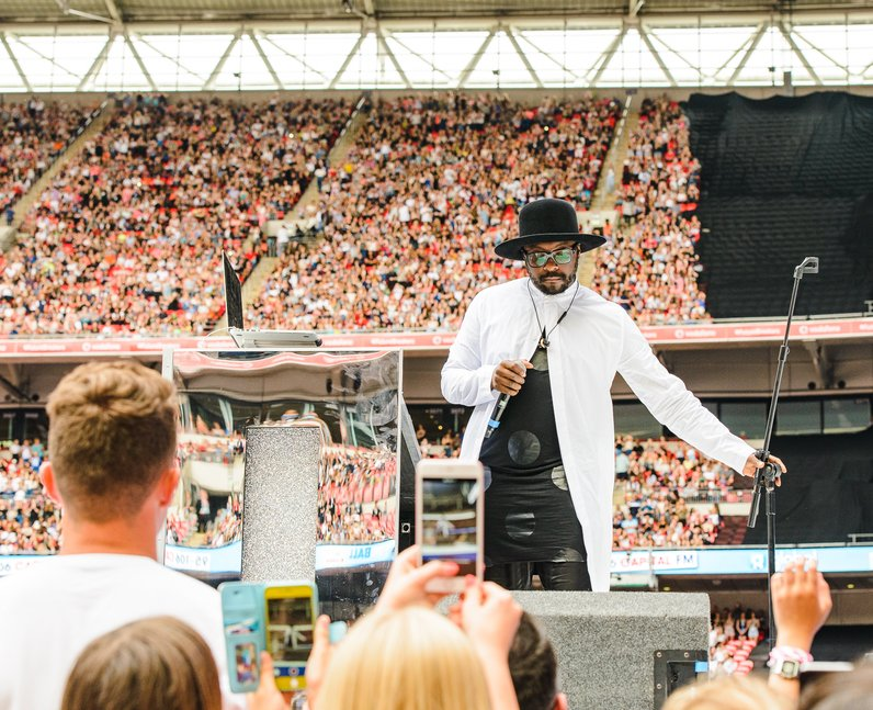 will.i.am at the Summertime Ball 2016