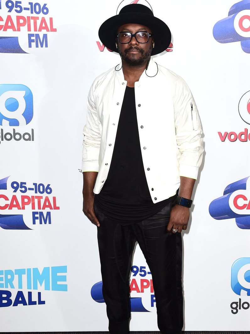 will.i.am Red Carpet Arrivals Summertime Ball 2016