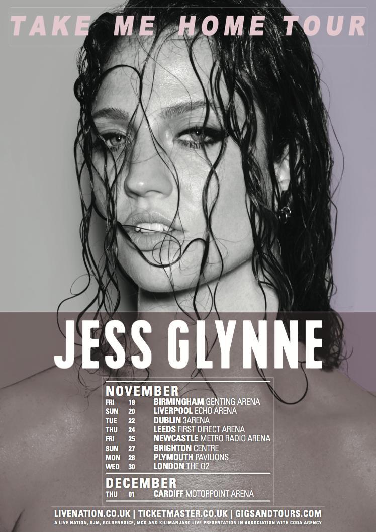 Jess Glynne Take Me Home Tour Setlist