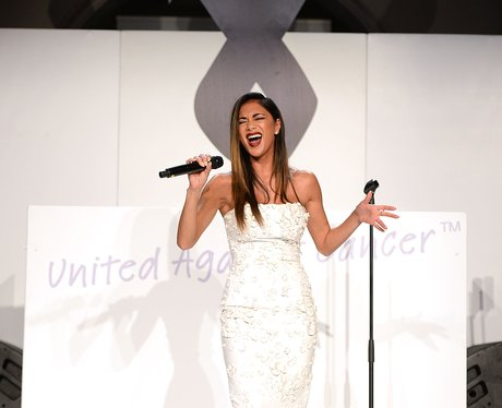Nicole Scherzinger performs at One For The Boys Fa