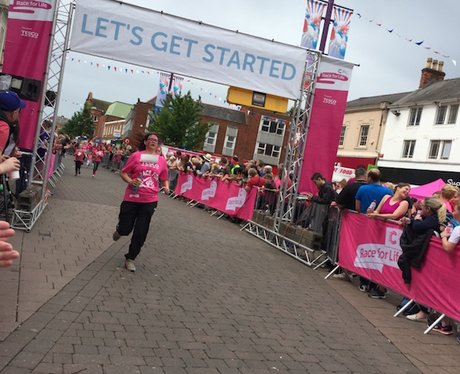 Race For Life Loughborough City Centre