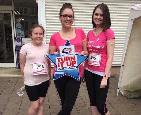 Race For Life Loughborough City Centre