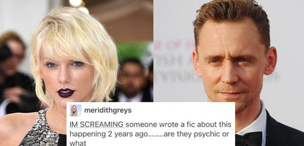 Someone *Actually* Predicted Taylor Swift & Tom Hiddleston