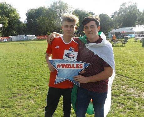 Cardiff Fanzone: Wales v Russia
