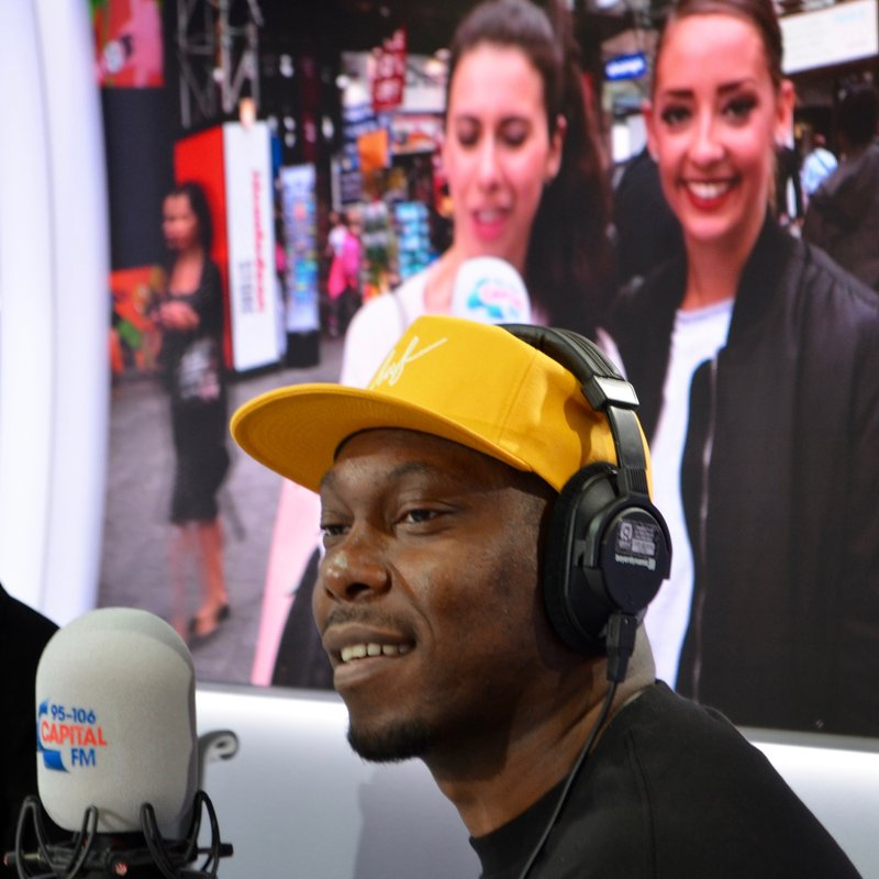 Dizzee Rascal, with Dave Berry, George and Lilah