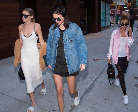 Gigi Hadid, Kendall Jenner and Hailey Baldwin go f