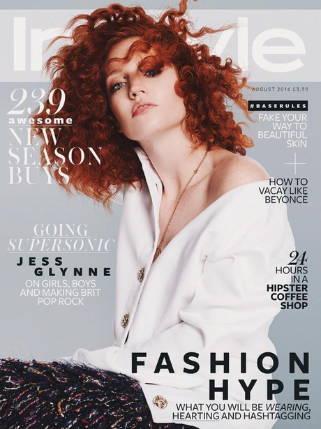 Jess Glynne InStyle UK Cover