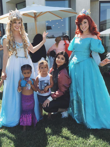 Kylie Jenner and the princesses