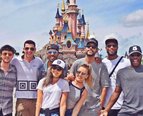 Little Mix enjoy a day at Disneyland Paris
