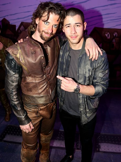 Nick Jonas sports camouflage outfit for Celebritie