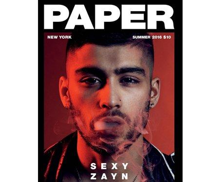 Zayn Paper Magazine
