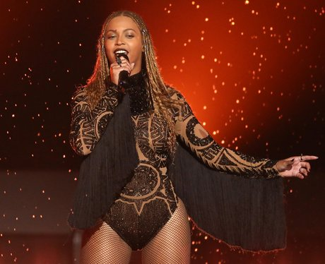 Beyonce performs Freedom at the BET Awards at the