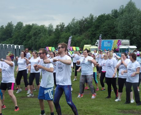 Color Obstacle Rush Sheffield 2016